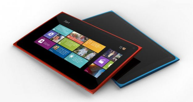 Tablet Nokia con Windows 8