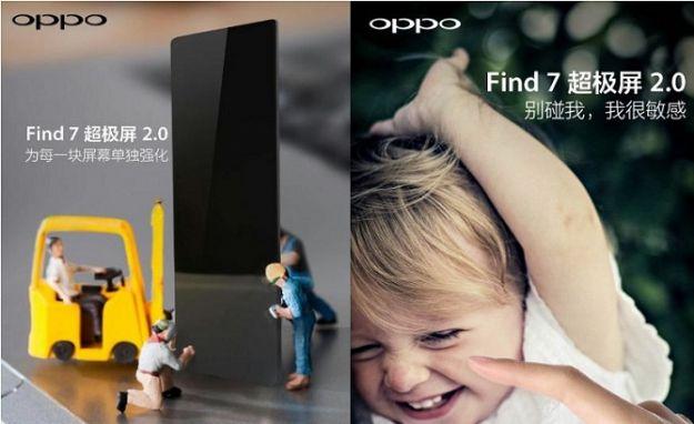 Oppo Find 7 Super Screen 2.0