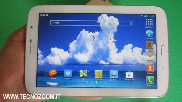 Samsung Galaxy Note 8 homescreen