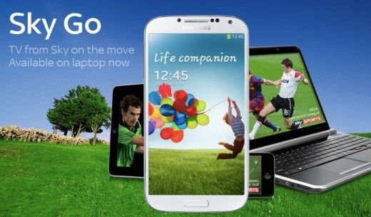 Sky Go anche su Samsung Galaxy S4: il download