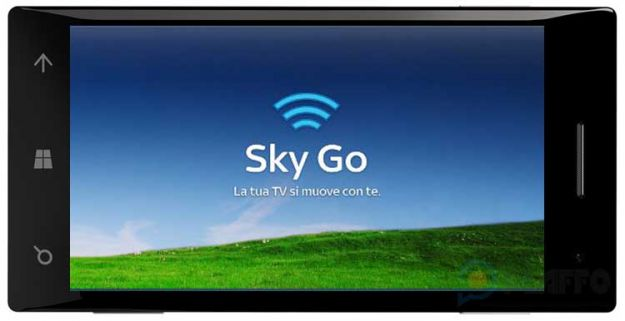 Sky Go disponibile su Windows Phone