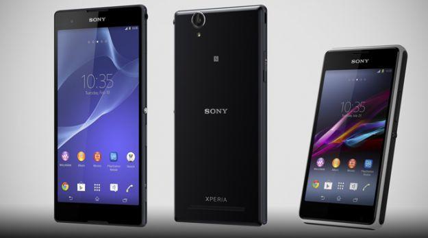 Sony Xperia E1 T2