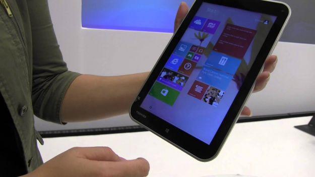 Tablet Windows 8.1 sull'aereo