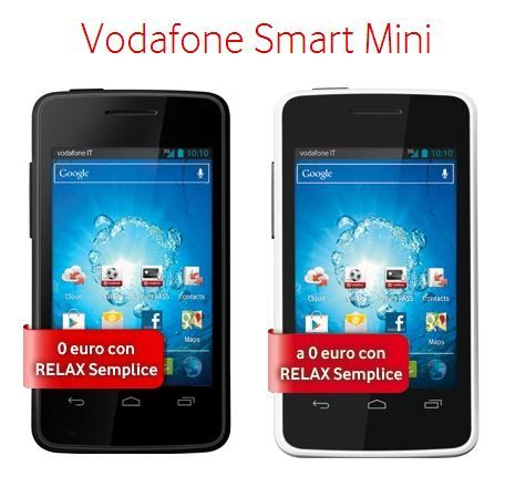 Vodafone Smart Mini con Relax Semplice