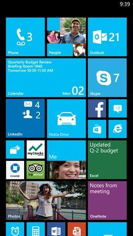 Windows Phone 8 Amber Nokia Lumia