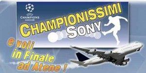In finale di Champions League con Sony