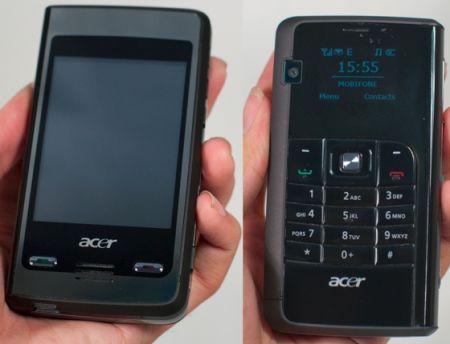 Acer DX650: quando il cellulare ha due facce