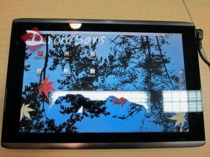 Tablet Acer Android 3.0 a Gennaio 2011
