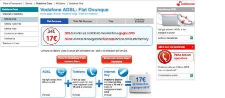 Vodafone: le nuove offerte Vodafone Casa