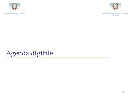 Agenda digitale ufficiale, entro il 2020 banda larga per tutti a 30 Mbps