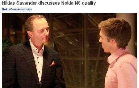 Nokia N8: ammissione ufficiale problemi alimentazione