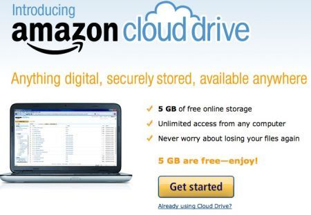 Amazon Cloud Drive: Playlist e Streaming MP3 Online su PC e Android