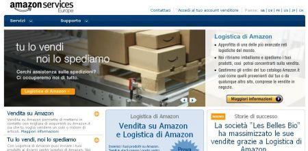 Amazon Marketplace apre in Italia