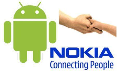 Android corteggia Nokia