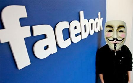Facebook vedr la fine il 5 Novembre 2011? (Anonymous)