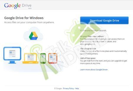 Google Drive, il nuovo servizio cloud con 5 GB a disposizione