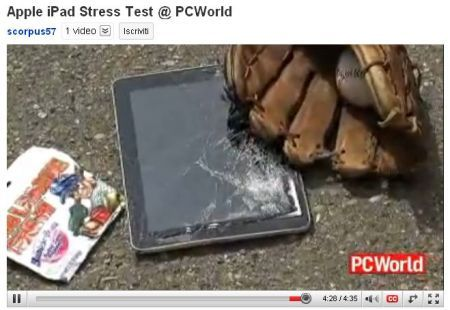 Apple iPad: primo stress test del Tablet