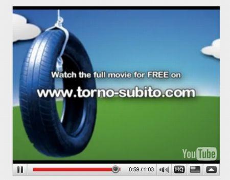 "Apple iPhone 3GS: cinema gratis con ""Torno Subito"""