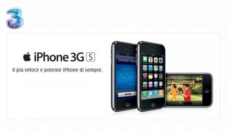 Apple iPhone 3GS: con Tre Italia per gli abbonati anche l'iPhone 3G gratis