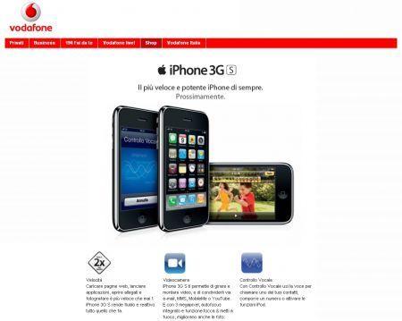 Apple iPhone 3GS: novità per quanto riguarda le tariffe Vodafone