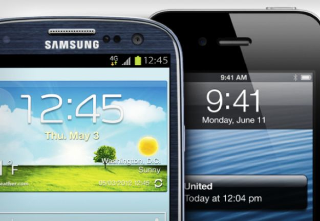 apple iphone samsung galaxy s3 android ios