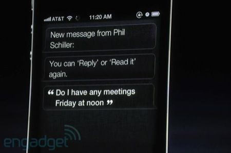 Apple Siri, l'assistente personale dell'iPhone 4S
