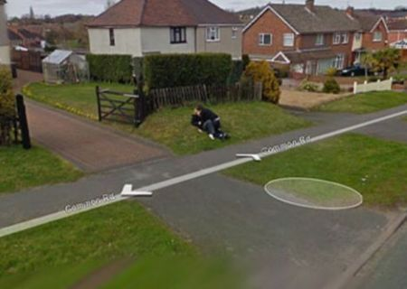 Google Street View ed il primo bacio