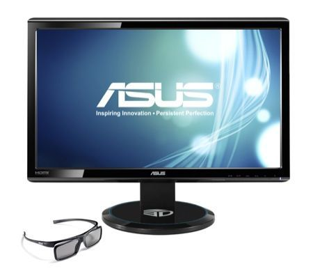 Asus VG23AH, monitor 3D da 23 pollici ad un prezzo interessante