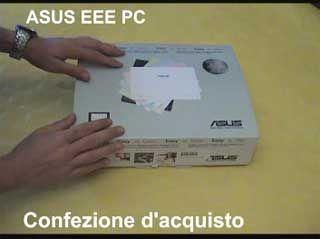 Prova ASUS Eee PC 4G