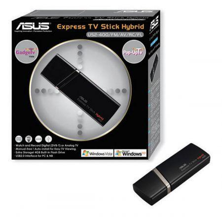 Asus Express TV Stick: chiavetta che trasforma il PC in TV come idea regalo