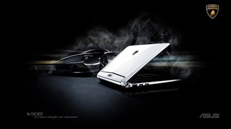 Asus Eee PC VX6 Automobili Lamborghini: una fuoriserie nel netbook