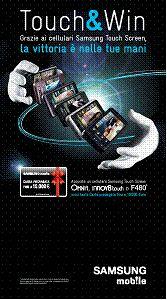 Concorso Samsung Touch & Win