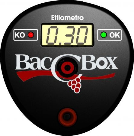AvMap BaccoBox: etilometro da portare sempre con se come idea Natale