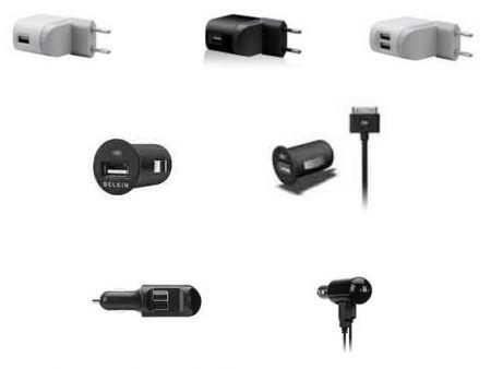 Belkin presenta la gamma di caricatori da casa e da auto per iPod e iPhone