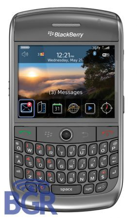 BlackBerry 9300 Gemini: un 8900 Curve con funzionalità 3G