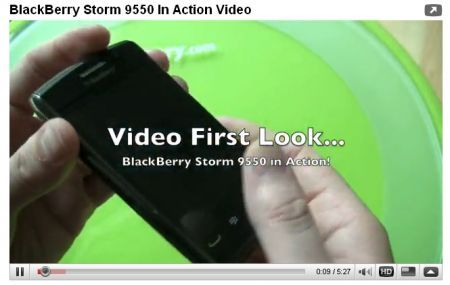 BlackBerry Storm 2 anteprima in Video