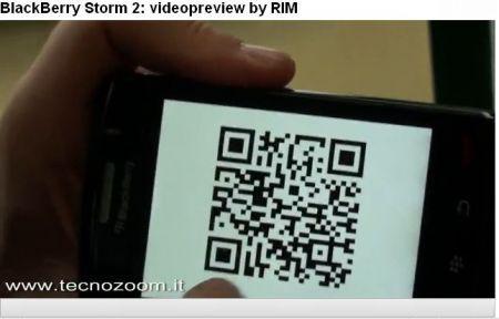 BlackBerry Storm 2 video preview prodotto ed intervista