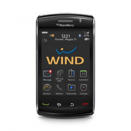 BlackBerry Storm 2: le offerte di Wind