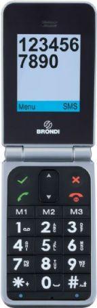 Brondi Beta Big: cellulare per anziani di facile utilizzo
