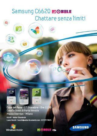 Samsung C6620: chattare senza limiti
