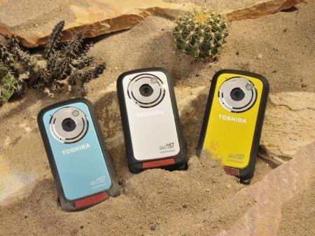 Toshiba SportCam Camileo BW10: videocamera Full HD che resiste all'acqua