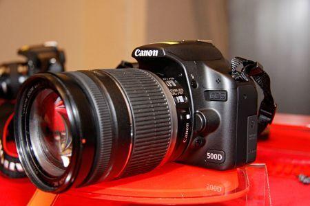 Canon Eos 500D: qualità reflex a prezzi contenuti