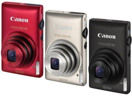 Regali di Natale 2011: fotocamera Canon Ixus 220 HS