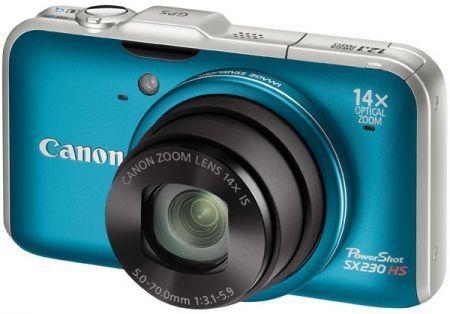 Canon Powershot SX230 HS: fotocamera con Gps per la Festa del Papà