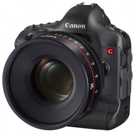Canon EOS Cinema, prototipo di fotocamera 4K che sembra una reflex
