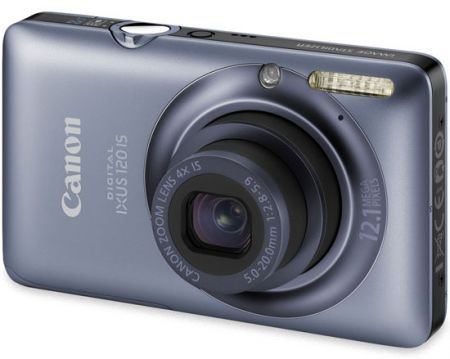 Canon Digital Ixus 120 IS: compatta digitale grandangolare come idea natale