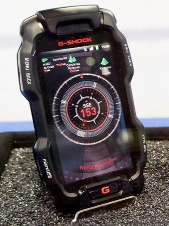 Casio G-Shock Phone, lo smartphone Android super resistente da regalare a San Valentino