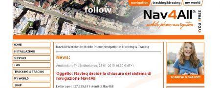 Nav4All chiude ed accusa Nokia