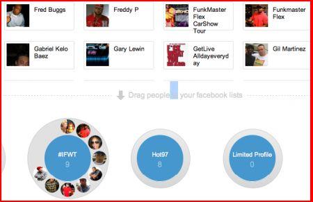 Facebook copia Google+ ed introduce non ufficialmente le cerchie di amici
