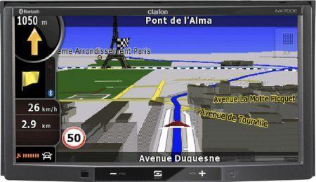 Clarion NX700E: navigatore satellitare GPS multimediale